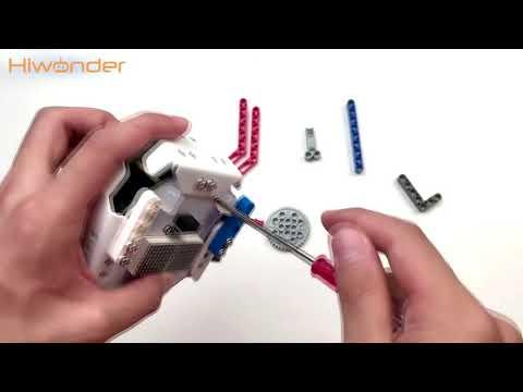 gameplay-1:-intelligent-line-tracking-(lego-assembly)-|-hiwonder-qbot-pro