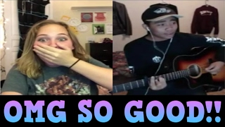 Singing To Girls On Younow [Amazing Reactions] [2017]