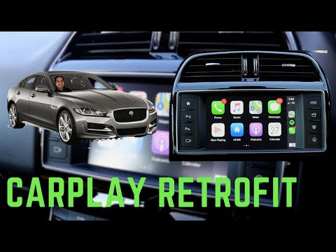 Jaguar XE CarPlay Install (2015-2018)