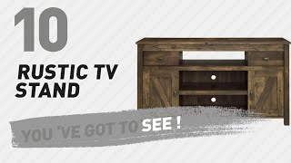 Rustic TV Stand // New & Popular 2017