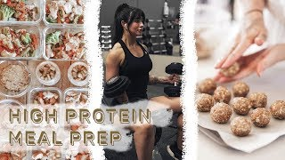 MEAL PREP FOR FITNESS // High Protein EASY Meals