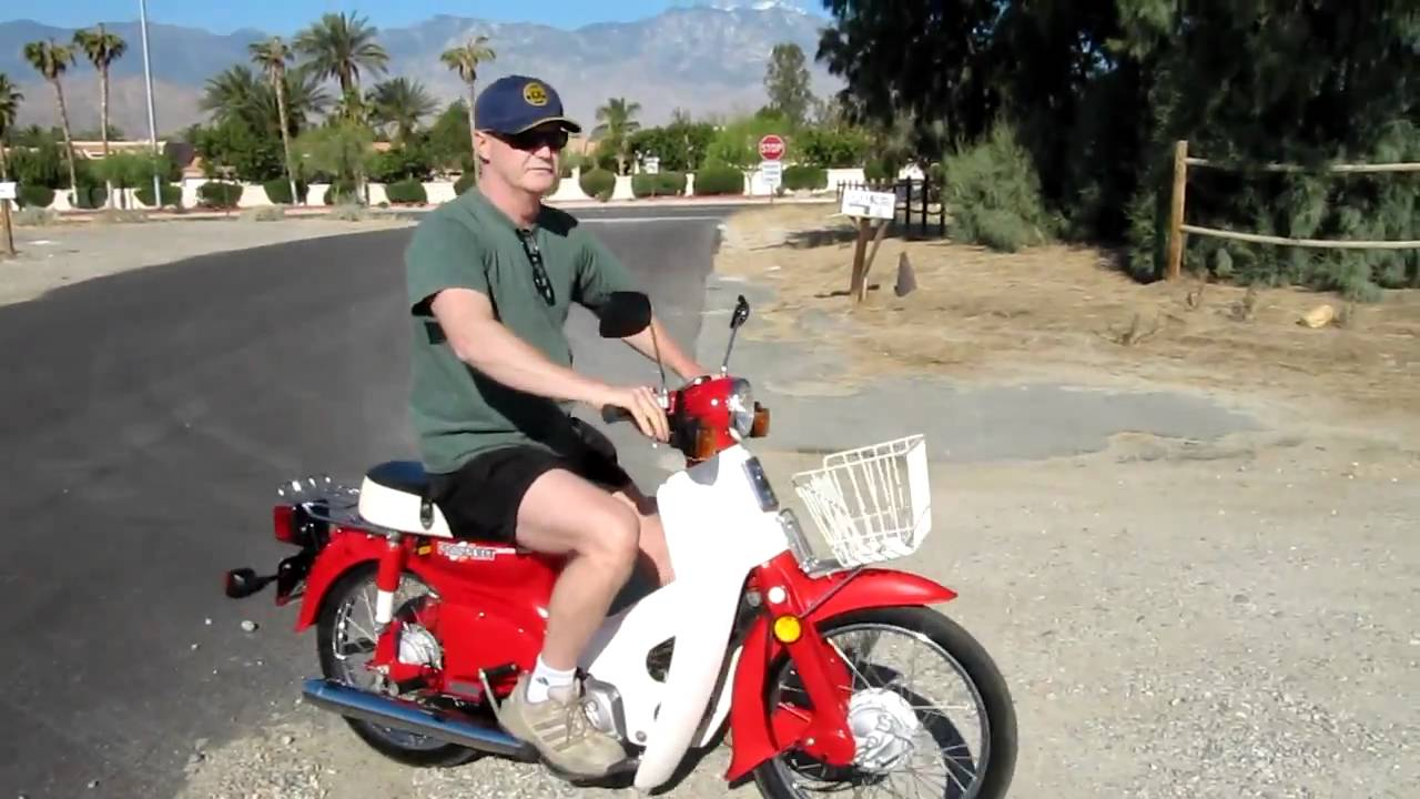 honda c70 passport scooter for sale on e bay 4 28 11 youtube. Black Bedroom Furniture Sets. Home Design Ideas