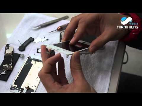 Thay mặt kính iPhone 4 có khó không?