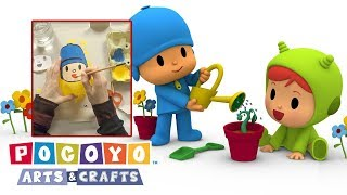 Pocoyo Arts & Crafts: Pocoyo and Nina's planters made with recycled plastic | EARTH HOUR 2018