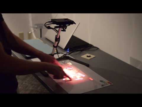 MicroVision Interactive Projection Demo