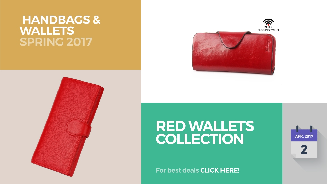 352fc9323d3e Red Wallets Collection Handbags & Wallets Spring 2017