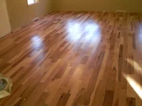 Natural Finish 100 Natural Floor Finish Buffed Wood Floors Youtube