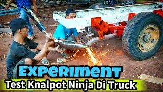 Truck Knalpotnya Ninja RR Suaranya Kaya apa ini 😱