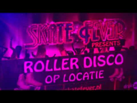 Rollerdisco in het theater weekend in de Flint 2016