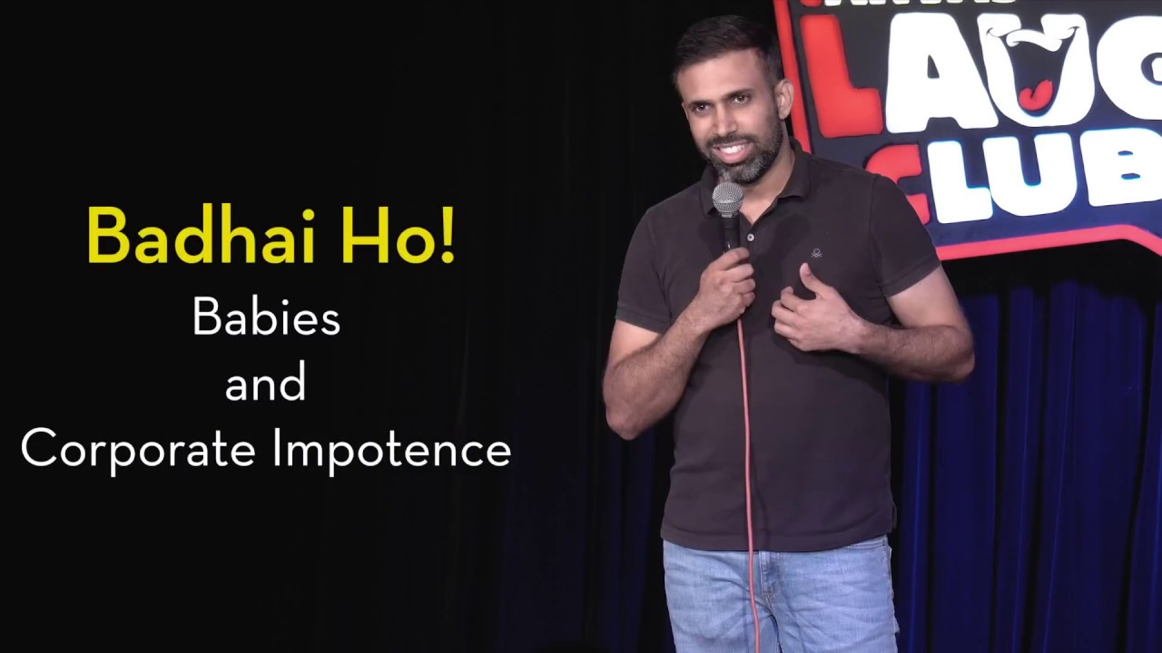 Badhai Ho - Babies and Corporate Impotence   Pritish Narula Stand-up Comedy   Canvas Laugh Club