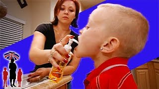 Mother Puts Soap Into Her Son's Mouth For Lying - Supernanny US