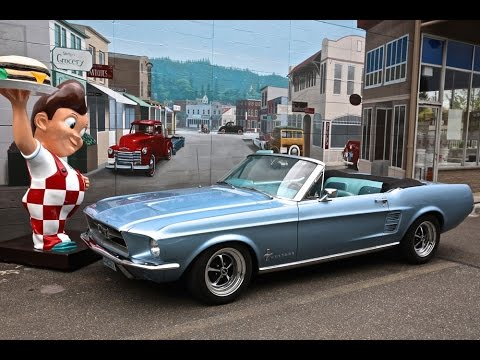 1967 Ford Mustang 289 V-8 Convertible  SOLD Drager's International Classic Sales  206-533-9600