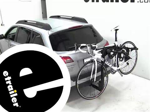 Thule Hitching Post Pro Hitch Bike Rack Review - 2012 Subaru Outback Wagon - etrailer.com