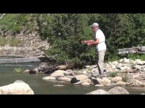 Slough Creek, MT fly fishing beyond the Yellowstone park boundary