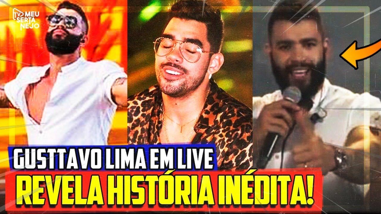 GUSTTAVO LIMA REVELA HISTÓRIA com GABRIEL DINIZ e faz HOMENAGEM!