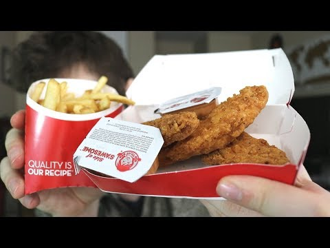 Wendy's NEW Chicken Tenders & S'Awesome Sauce Devoured & Reviewed