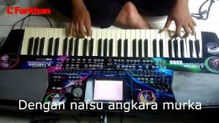 Surga Dibalik Dosa Cover Karaoke lirik by El Farkhan Kebumen