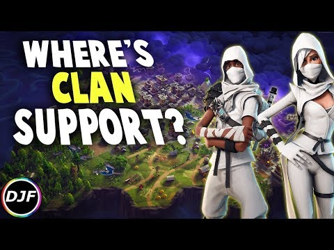 How Clans Would Work In Fortnite | Both Save the World and Battle Royale!