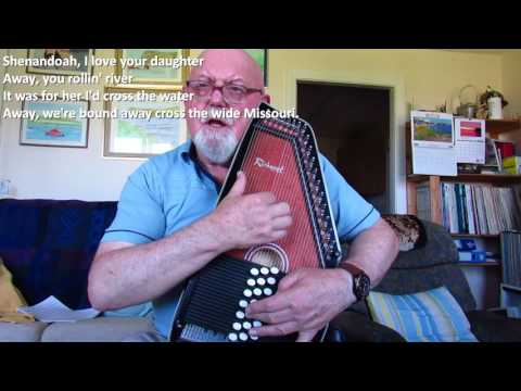 Autoharp: Shenandoah (Including lyrics and chords)