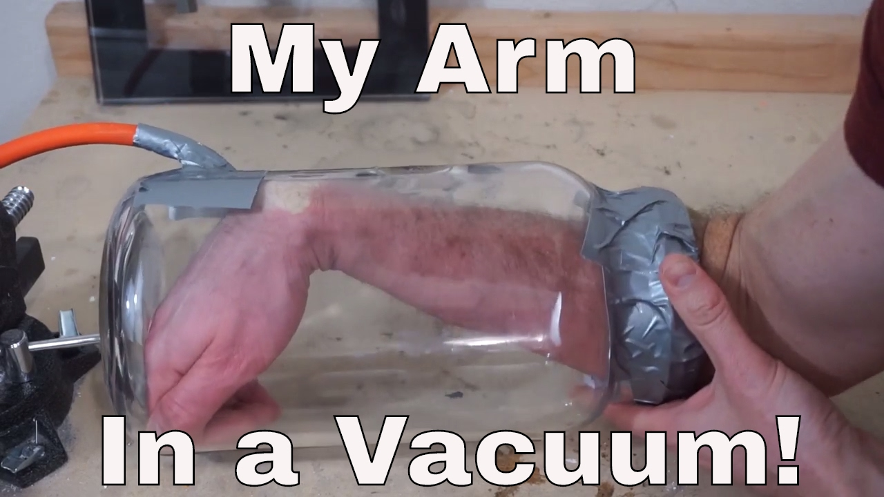 Vacuum bomb: what happens if it explodes