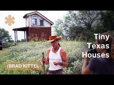 "Tiny Texas Houses' ""Willy Wonka"" on making magic reusing wood"