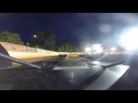East Lincoln Speedway 6-15-19 Stock 4 Rear Cam Main Event 2of2 Alexus Motes
