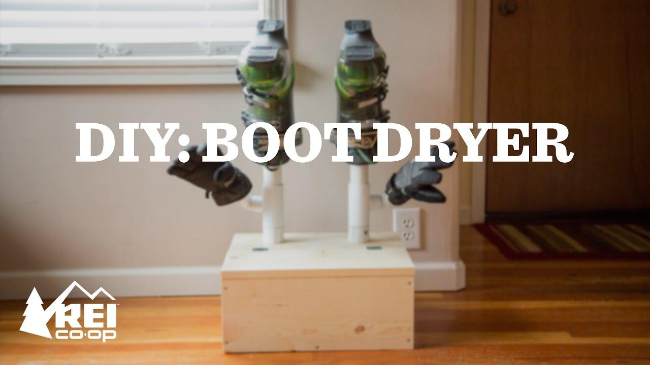 DIY Boot Dryer | REI - YouTube