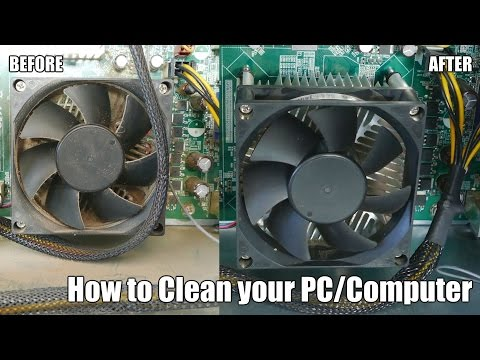 How to Clean your PC/Computer