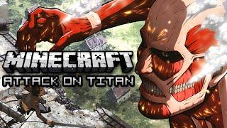 Minecraft: ATTACK ON TITAN HIDE & SEEK w/ Friends