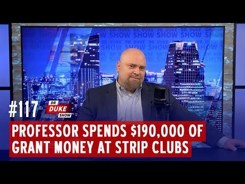 Tim Moore - Professor Spends Federal Grant Money At Strip Club