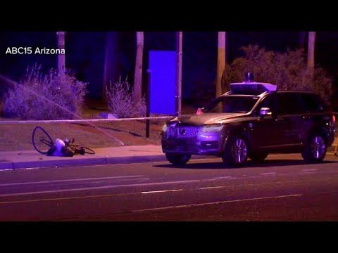 Uber suspends self-driving car tests after pedestrian killed
