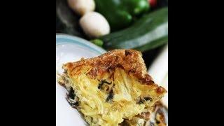 Joe Sexton Fatloss Masterchef - Sausage, Onion And Mushroom Frittata - Recipe