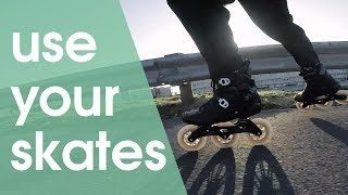 INLINE SKATES ARE THE BEST FOR COMMUTING