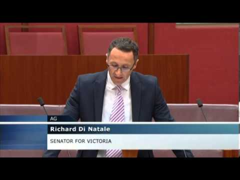Richard Di Natale - Wind farms, health and science