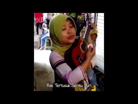 Secawan Madu - Dangdut Versi Ibu Sri Memang Selalu Asyik - Cover Dangdut Akustik Ukulele