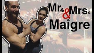 MR & MRS MAIGRE S'ENTRAÎNENT LES ÉPAULES