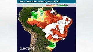 Chuva no BR até 19 de outubro