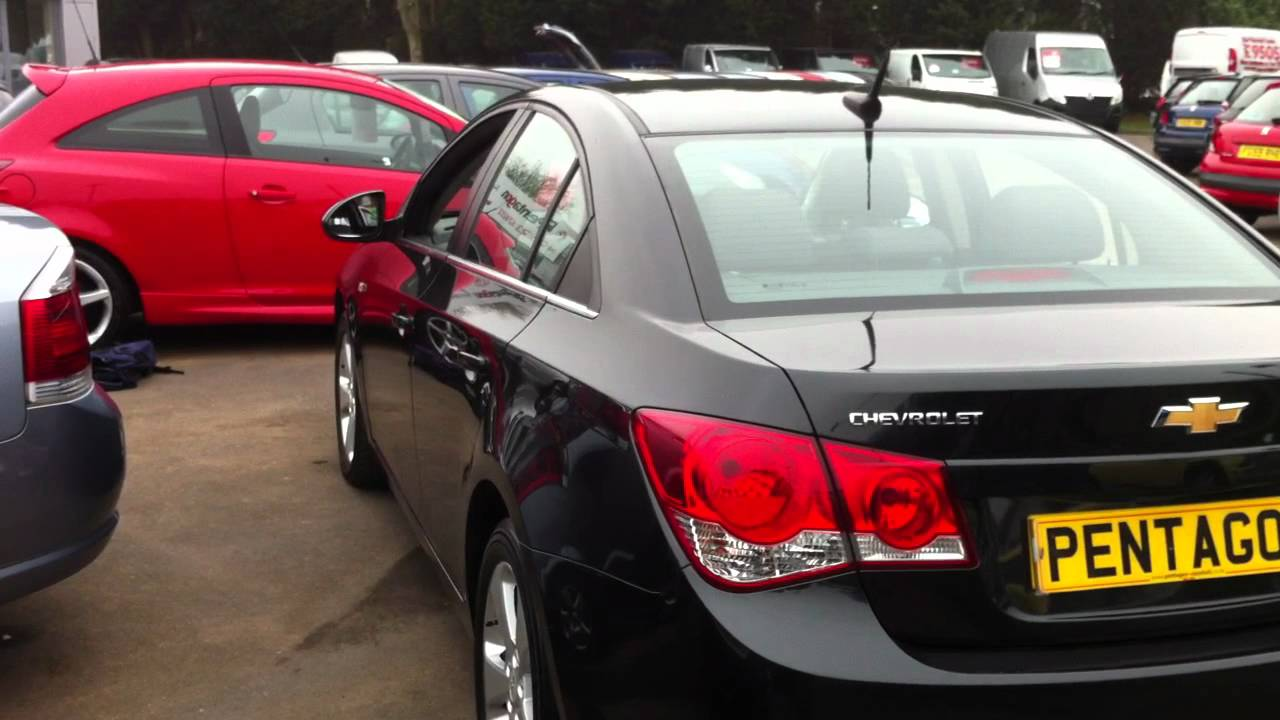 Cruze chevy cruze 2.0 td : 2009 09 PLATE CHEVROLET CRUZE 2.0 VCDI LT 4DR - CARBON FLASH BLACK ...