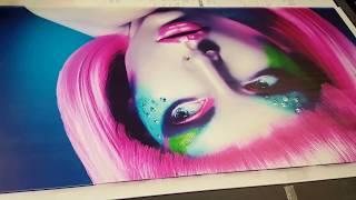 UV Druck Forex Print Platte Bilder Epson Dx5