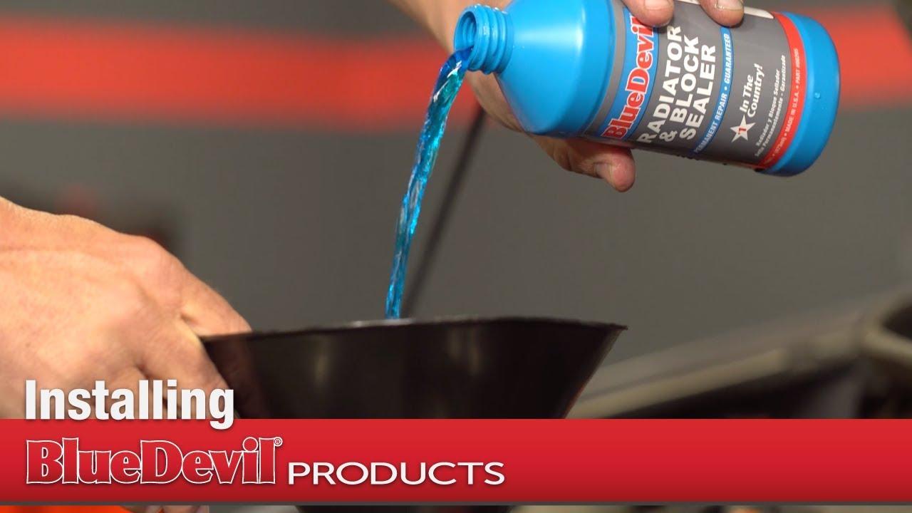 How to Install BlueDevil Radiator & Block Sealer