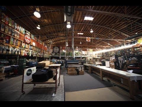 Visiting NHS Fun Factory a.k.a. Santa Cruz Skateboards