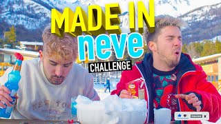 MADE IN NEVE CHALLENGE ❄️ | Matt & Bise