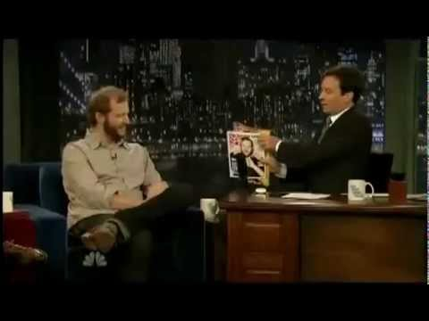 Bon Iver's Justin Vernon Interview on Jimmy Fallon