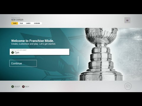 NHL 17 Franchise | Fantasy Draft ep. 1 'The Fantasy Draft'