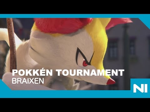 Pokkén Tournament - Pikachu Vs. Braixen