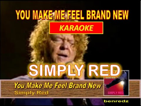 You Make Me Feel Brand New by Simply Red - karaoke version