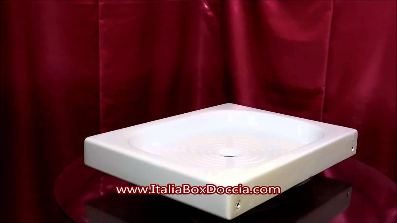 Piatto Doccia 60x80 cm h10 - YouTube