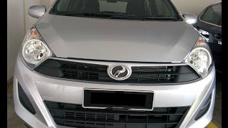 Perodua AXIA Auto Standard G Spec Interior, Exterior, Engine, Underbody detail video
