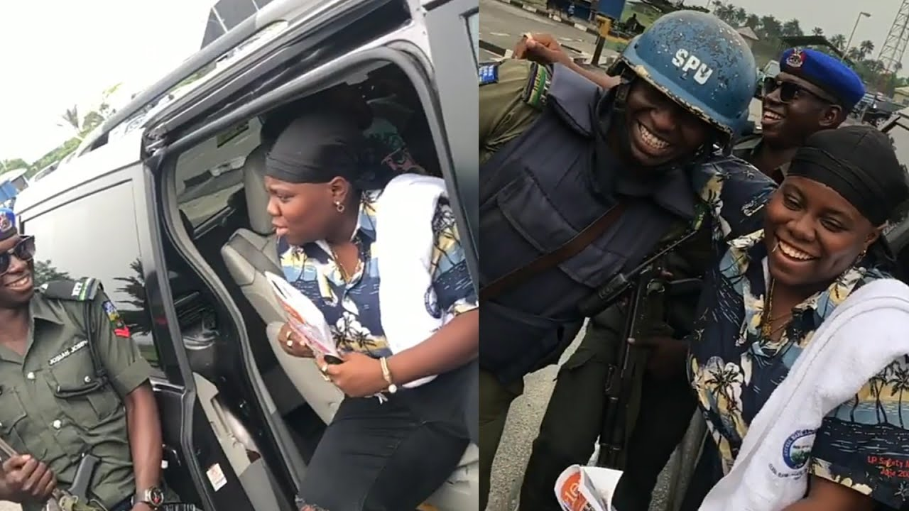 Teni In Trouble With Nigerian Policemen Over Her Case Song