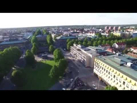 DJI Phantom 3 Advanced, Gävle midtown - Sweden